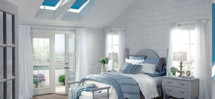 Skylight Shades for Your Bedroom