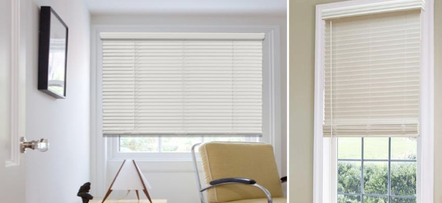 1.5-Inch Faux Wood Blinds