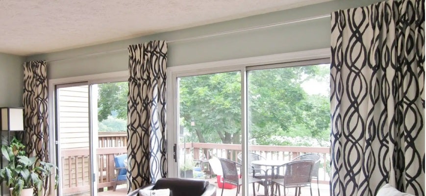 Sheer Curtains For Your Wide Windows