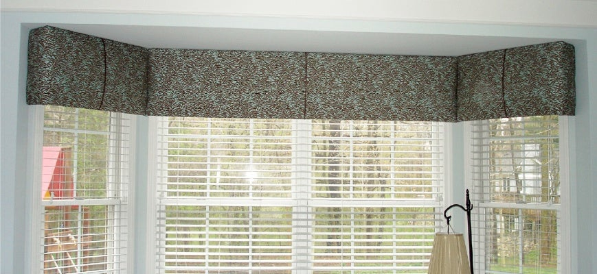Valances And Cornices For Your Large Windows