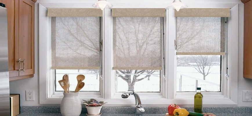 Ideas For Window Treatments In Kitchens