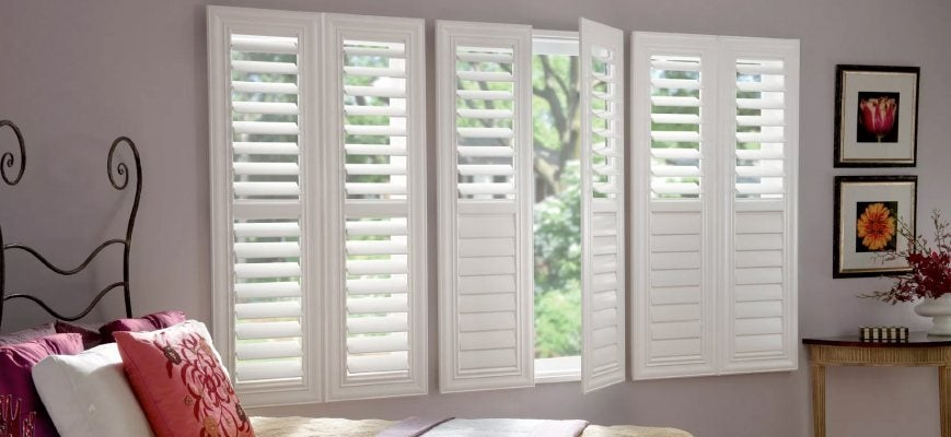 Wooden Shutters From Graber