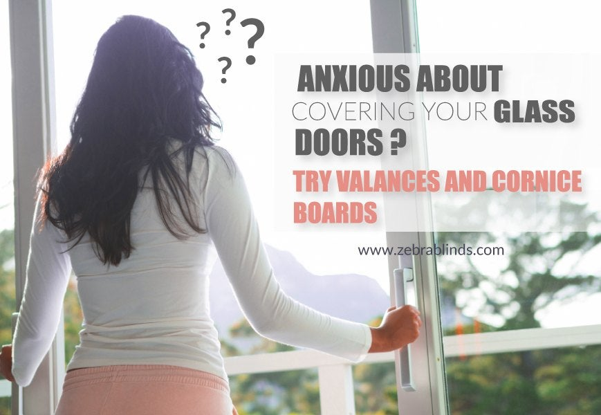 Anxious About Glass Doors Try Valances For Sliding Glass Doors