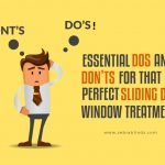 Essential Dos and Don'ts for Perfect Sliding Door Window Treatment
