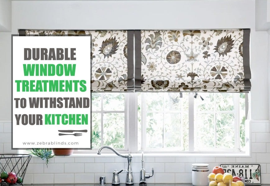Kitchen Sink Window Treatment Ideas