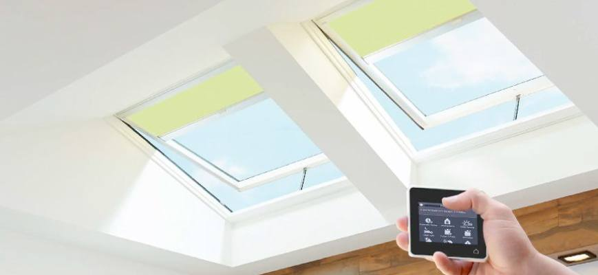 Motorized Outdoor Blinds - Electric Skylight Blinds