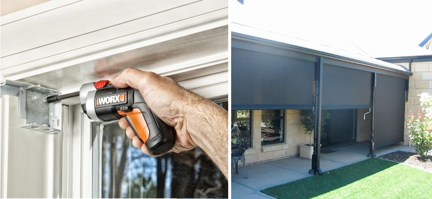 How to Install Outside Blinds