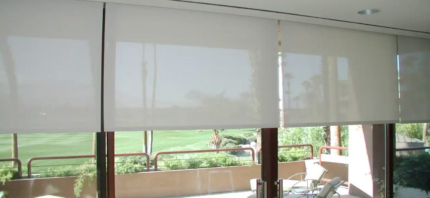 Outdoor Cellular Shades for Patio