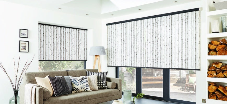 Custom Blinds And Shades - Roller Blinds