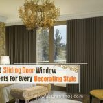 The Best Sliding Door Window Treatments For Every Decorating Style