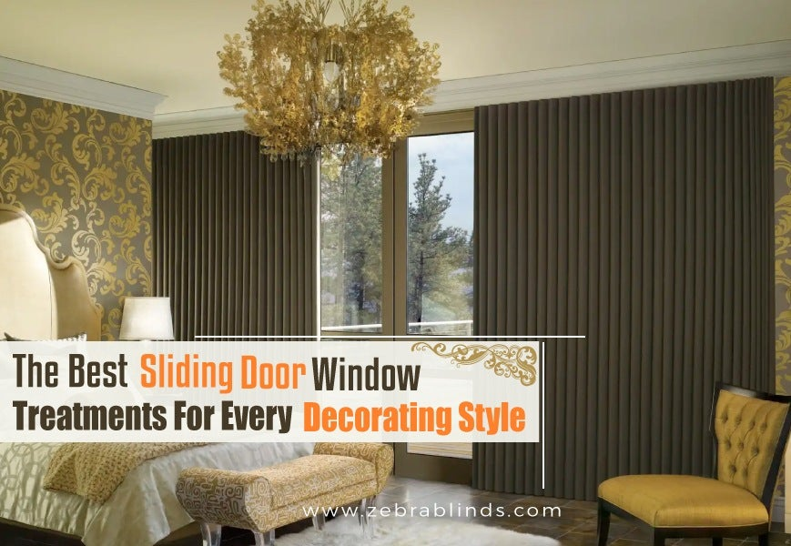 Best Sliding Door Window Treatments