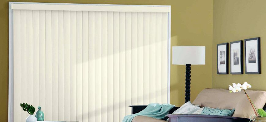 3 ½ inches Vertical Blinds SS