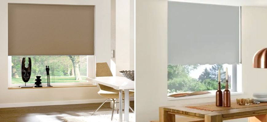 Crown Blackout Roller Shades