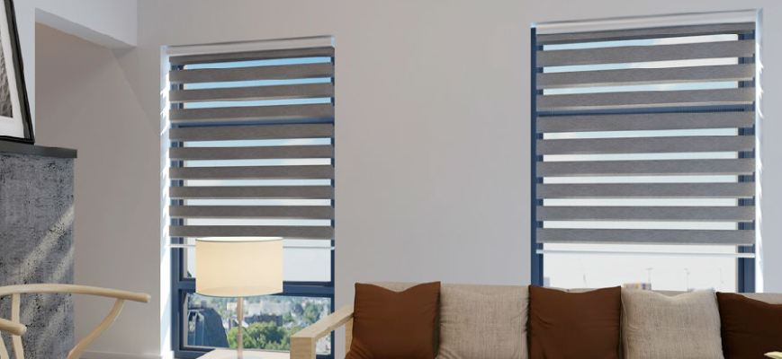 Flat Sheer Window Shades