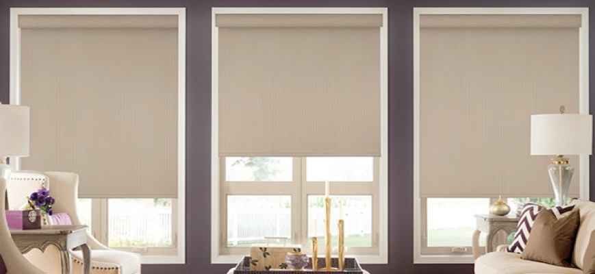 Graber Lightweaves Blackout Roller Shades