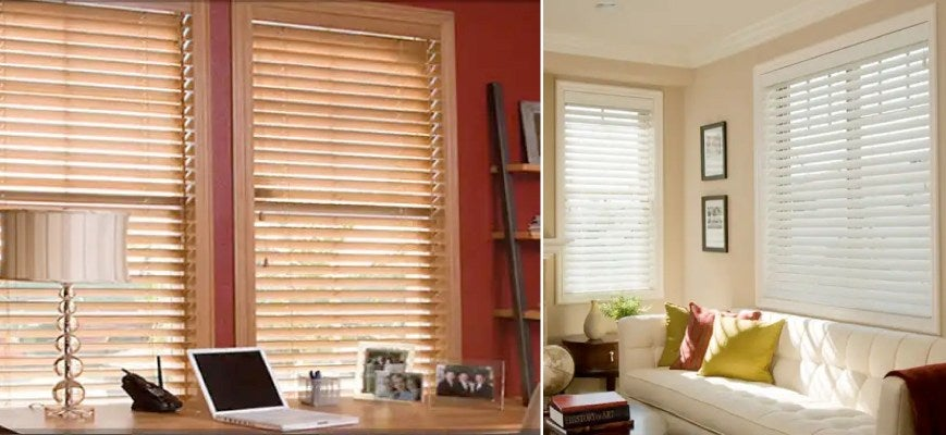 "Norman 2 ½"" Faux Wood Blinds"