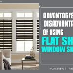 Advantages & Disadvantages of Using Flat Sheer Window Shades