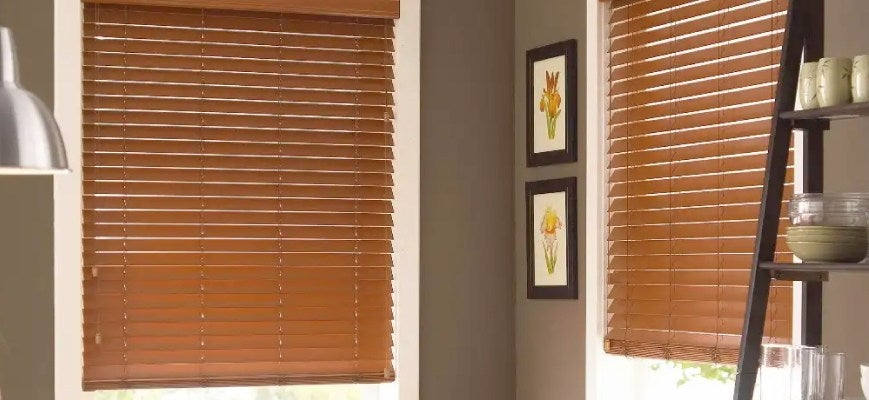Vinyl Faux Wood Blinds