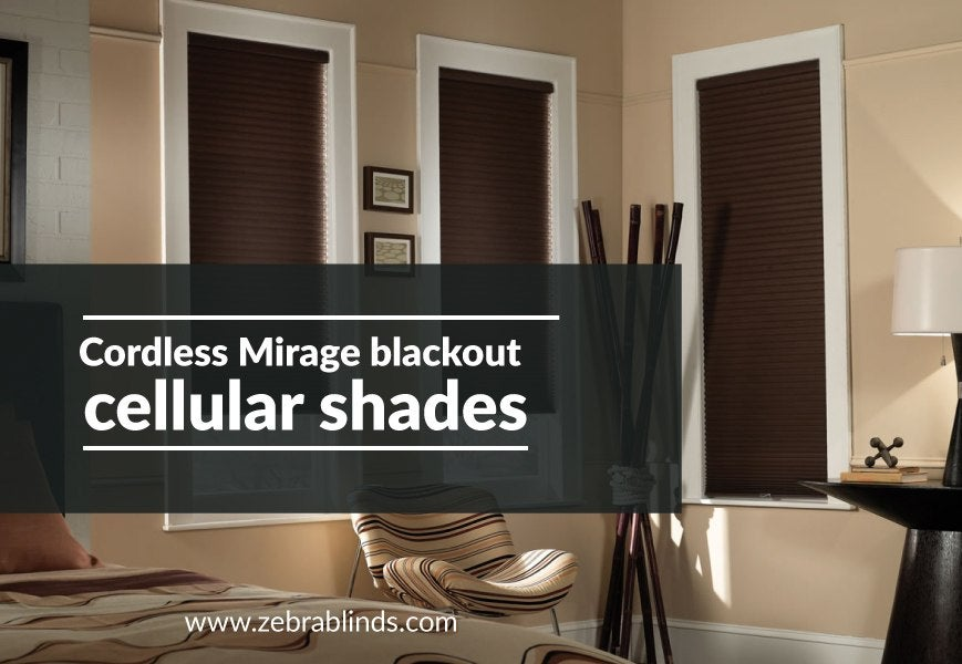 Mirage Blackout Cordless Cellular Shade