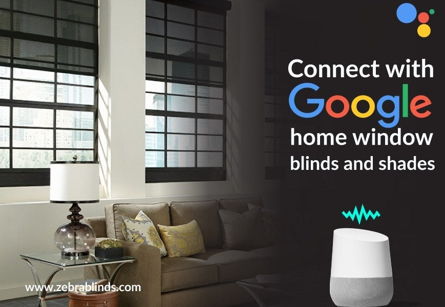 Google Home Window Blinds And Shades
