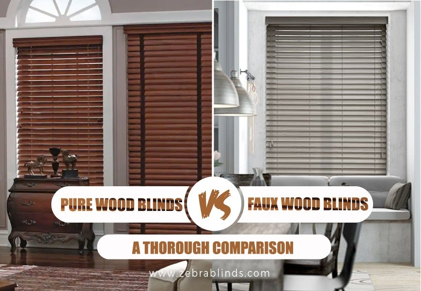 How Cordless Faux Wood Blinds Work