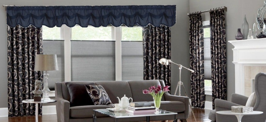 Cellular Shades And Drapery