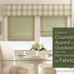 Create A Charming Appeal To Your Outdoors with The Right Selection of Fabrics