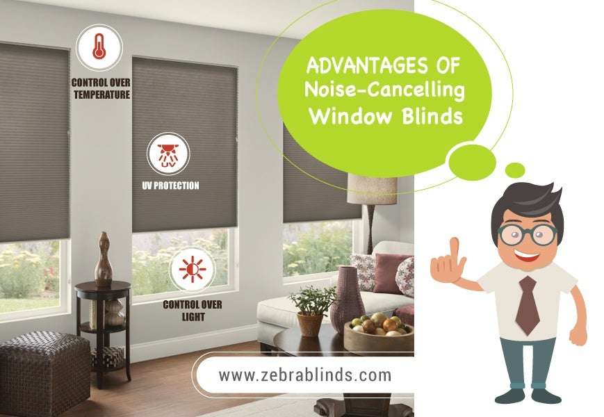 Sound Absorbing Window Blinds
