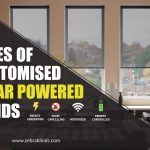 Types of Customised Solar Powered Blinds