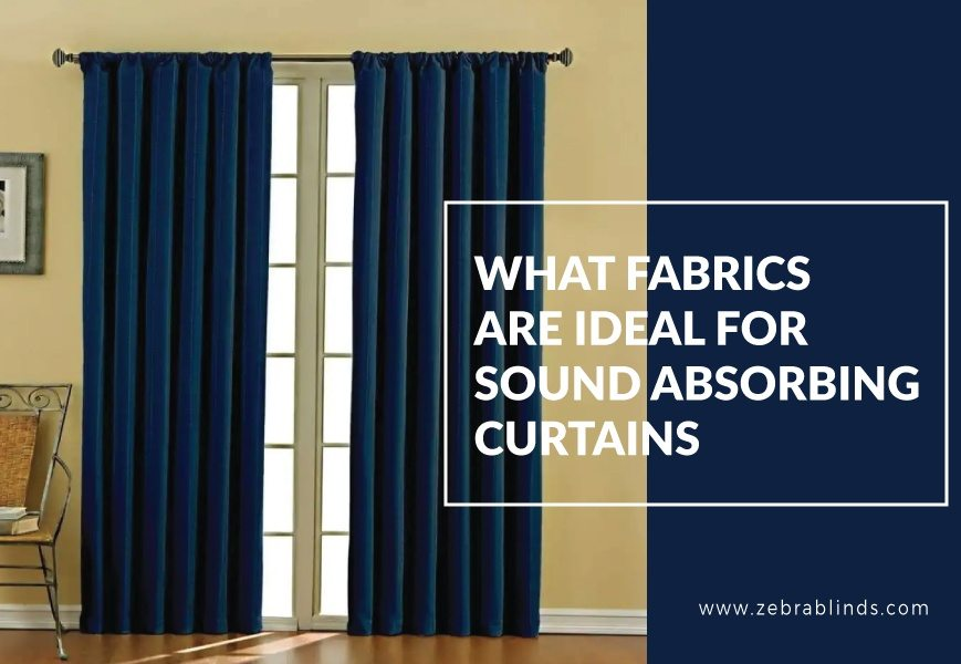 Noise Cancelling Window Shades And Blinds
