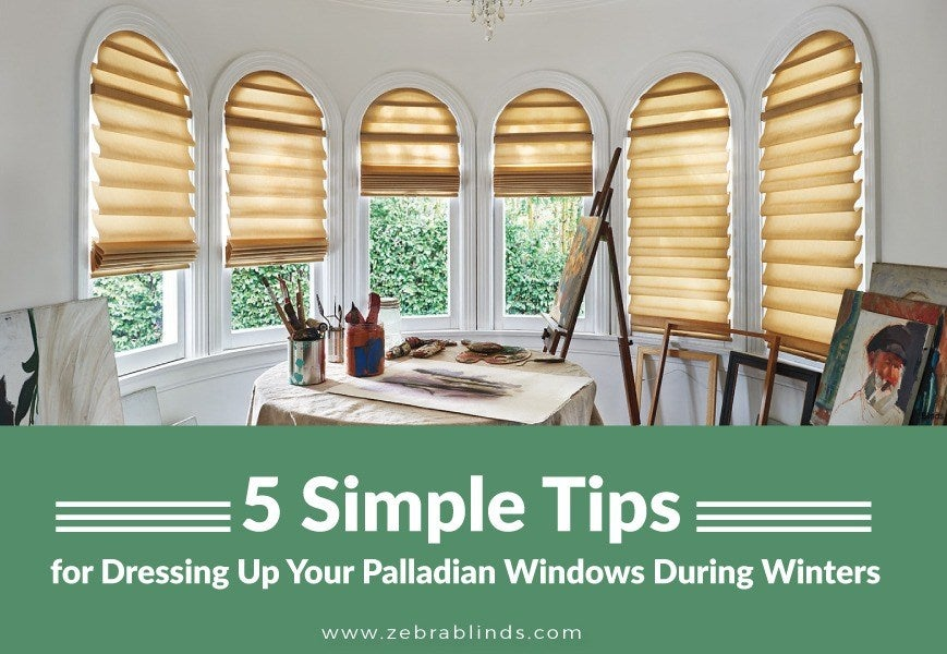 Blinds And Shades For Palladian Windows