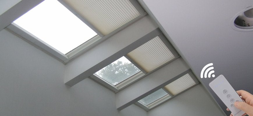 Remote Control Skylight Shades