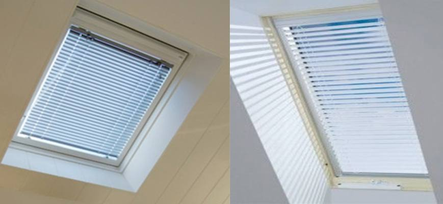 1 Inch Aluminum Skylight Blinds