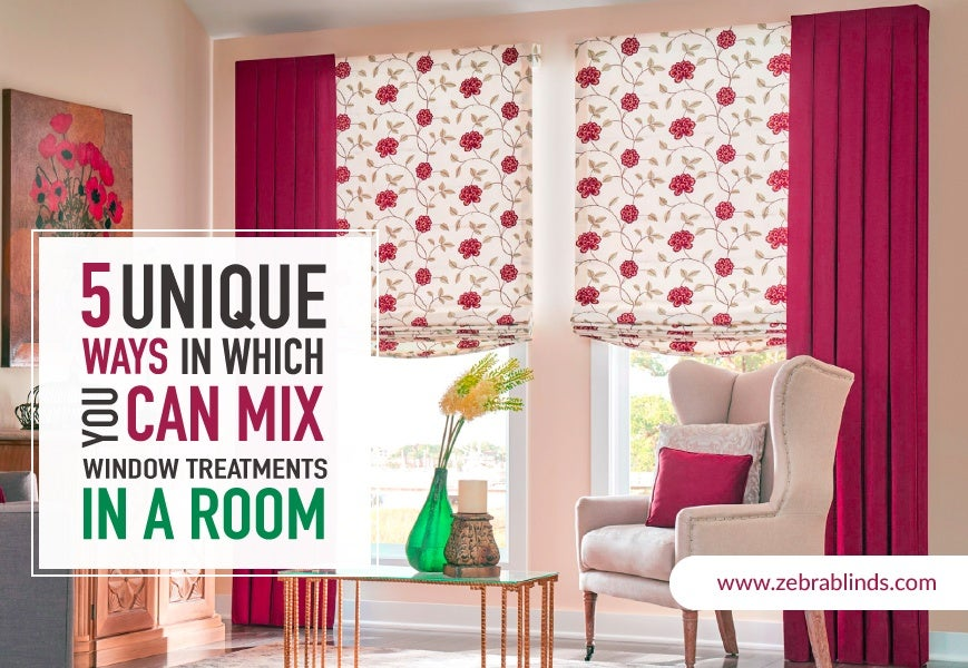 5 Ideas for Mixing Modern Window Shades and Blinds | ZebraBlinds