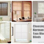 Choosing Norman 2 1/2″ Faux Wood Blinds