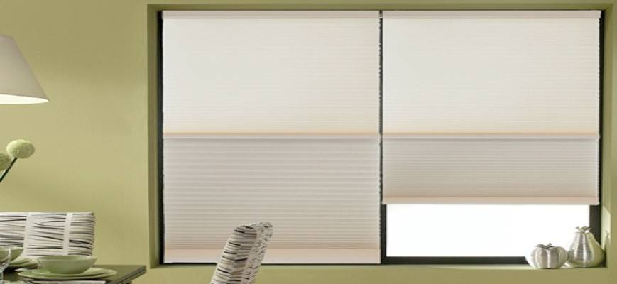 Crown Day Night Cordless Cellular Shades