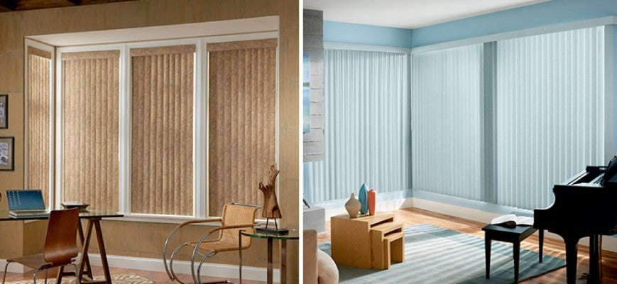Light Filtering Vertical Blinds