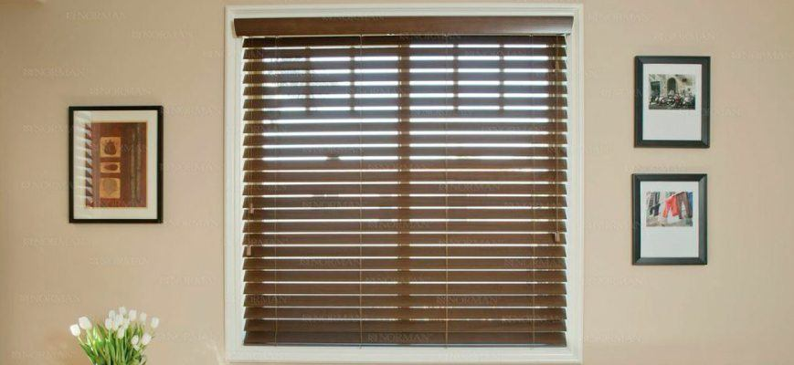 "Norman Window Fashions - Norman 2 1/2"" Faux Wood Blinds"