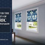 Discover The Royalty of Fabric Roman Window Shades