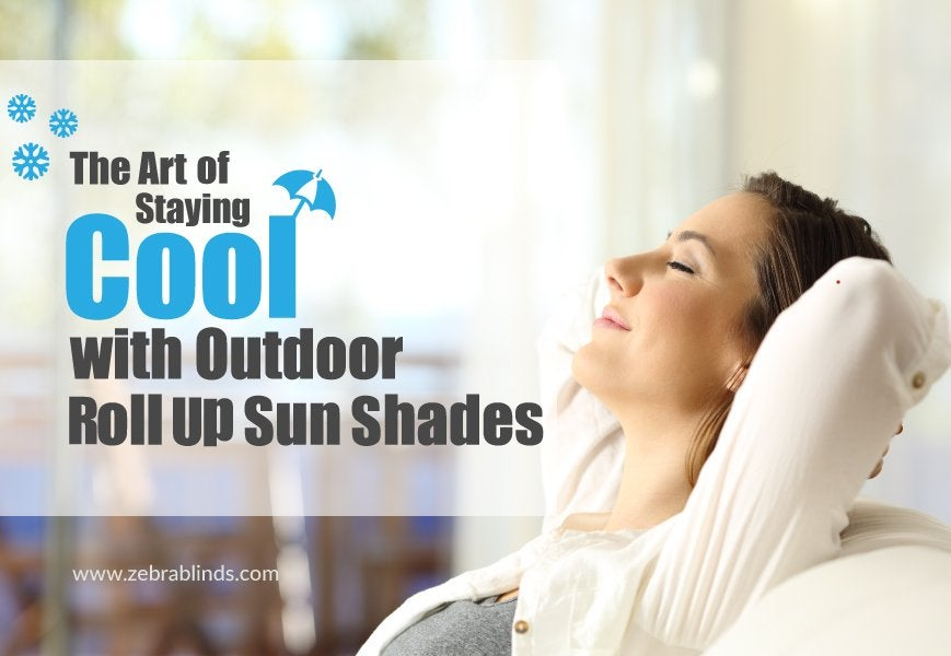 Outdoor Roll Up Sun Shades