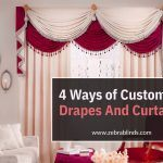 4 Ways of Customizing Drapes And Curtains