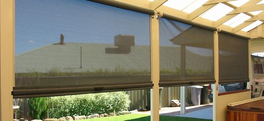Custom Outdoor Roller Shades