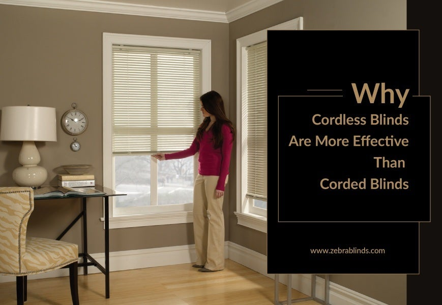 What Are Cordless Blinds And Shades