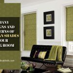 The Many Designs And Patterns of Roman Shades For Your Living Room