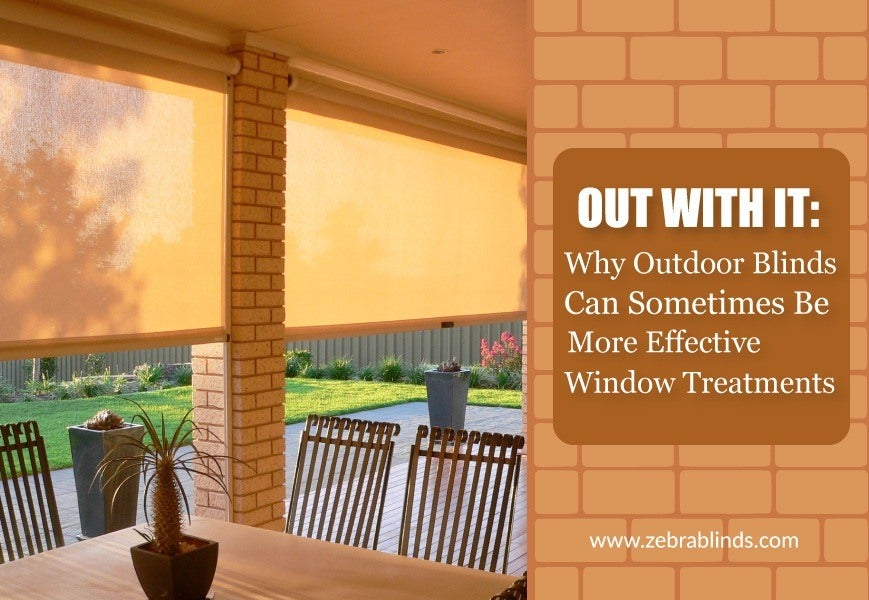 Outdoor Light Blocking Blinds And Shades