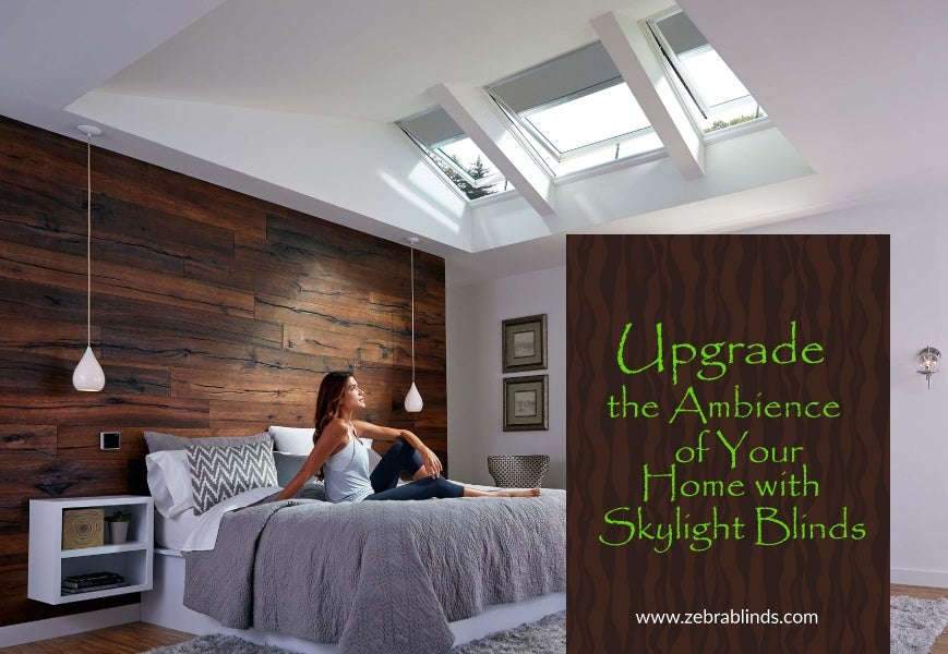 Motorized Skylight Blinds And Shades