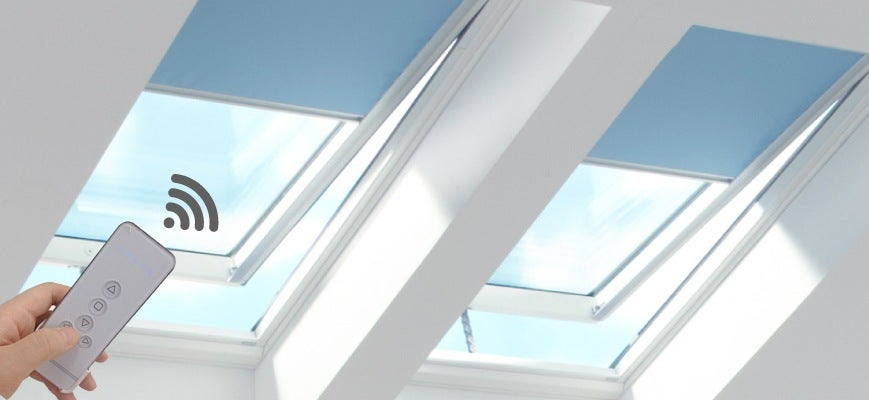 Remote Control Skylight Blinds