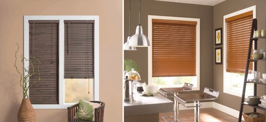 Easy To Clean Window Treatments - Faux Wood Blinds
