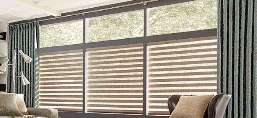 Combining Zebra Blinds and Sheer Curtains