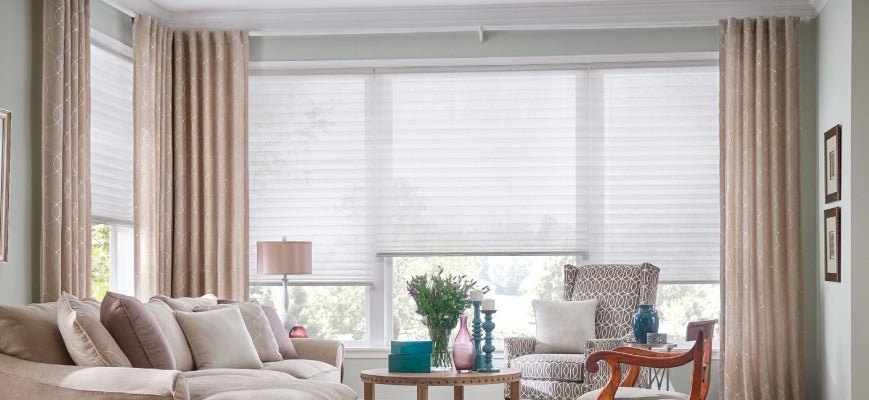 Pairing Curtains with Blinds